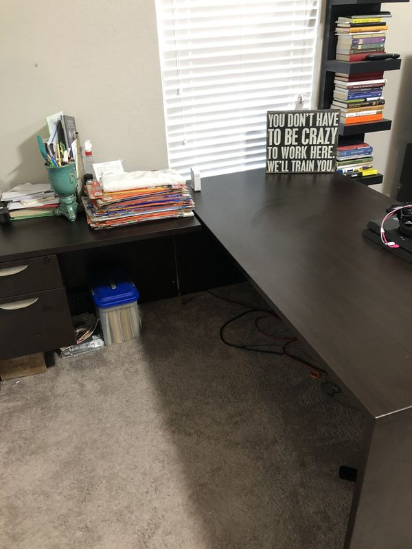 L Shaped Desk for Sale in Haslet, TX - OfferUp