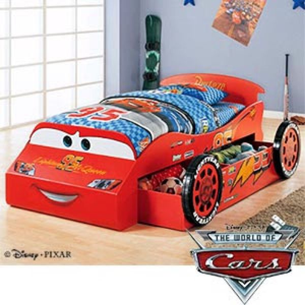 Costco Disney Lightning Mcqueen Wood Twin Trundle Bed For In Santee Ca Offerup