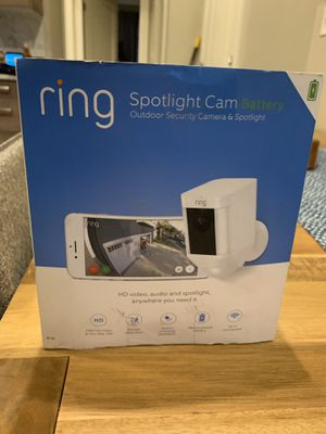 Ring Spotlight Cam outdoor security camera for Sale in Washington, DC