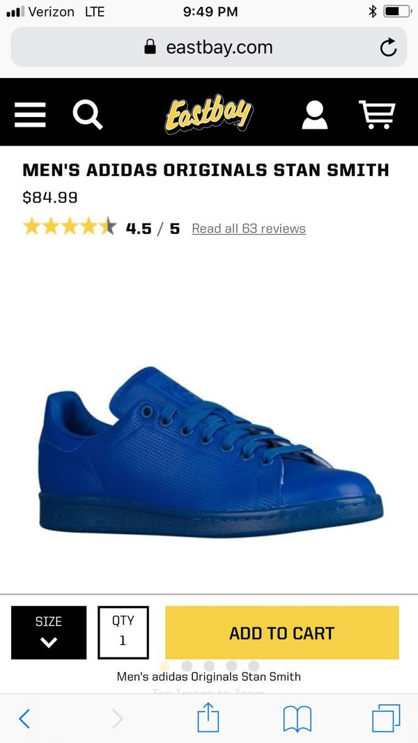 innovative design 359a0 57245 New in box Adidas Stan Smith Size 8 1/2 for Sale in New York, NY - OfferUp