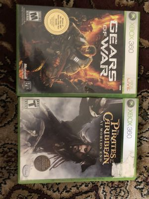 Xbox 360 games (2 for 18) for Sale in San Francisco, CA
