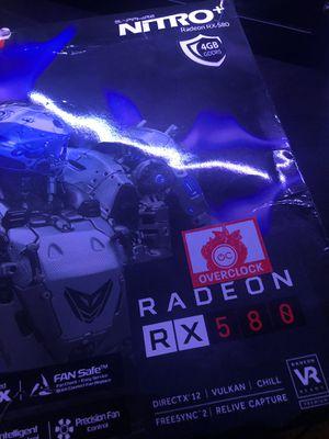 Radeon RX580 ( Sapphire NitRo+ ) for Sale in Potomac Falls, VA