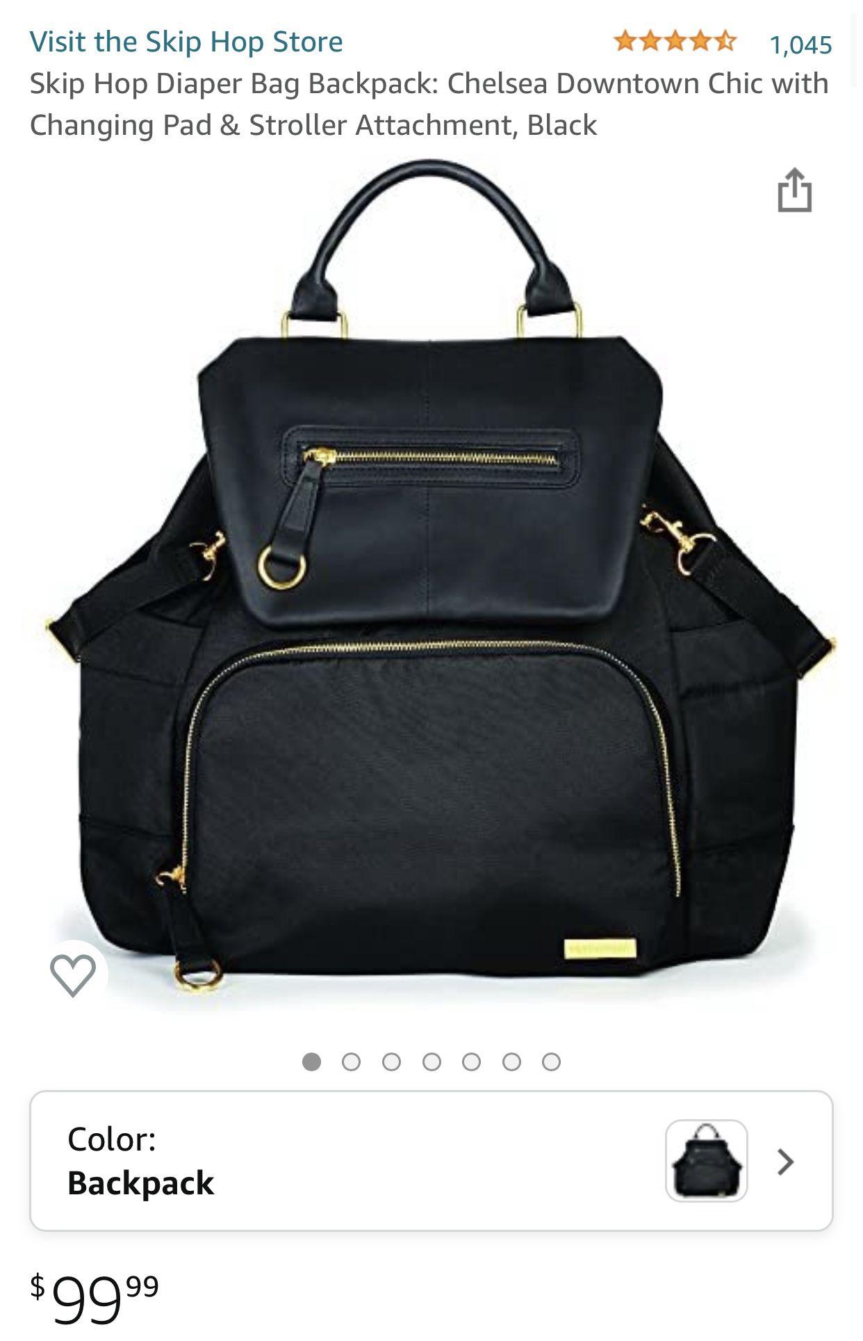 SKIP HOP Chelsea diaper backpack