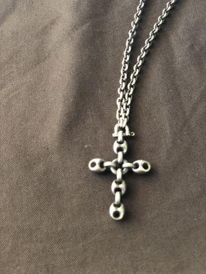 518b52a0a57 Gucci necklace w cross pendant for Sale in La Mirada