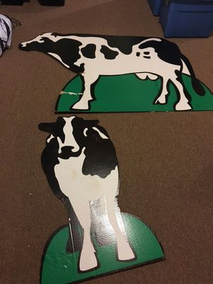 Cow Standees. Party decorations for Sale in Huddleston, VA