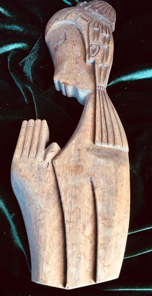 Wall art, wood sculptured H16xW5xD1.5 inch for Sale in Chandler, AZ