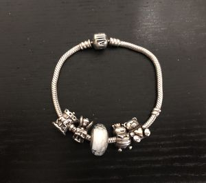 ORIGINAL PANDORA CHARMS ARE TWO TONES for Sale in Bay Lake, FL