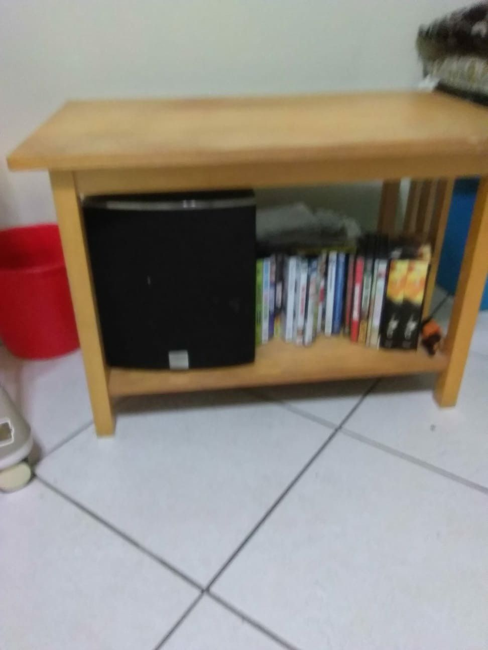 Wooden Table ( used it for plasma T.V)