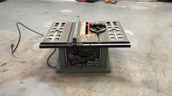 Delta 10 Motorized Bench Saw For Sale In Dartmouth Ma Offerup