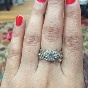 14k rose gold plated ring for Sale in Silver Spring, MD
