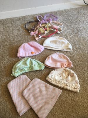 Baby bows and hats for Sale in Falls Church, VA