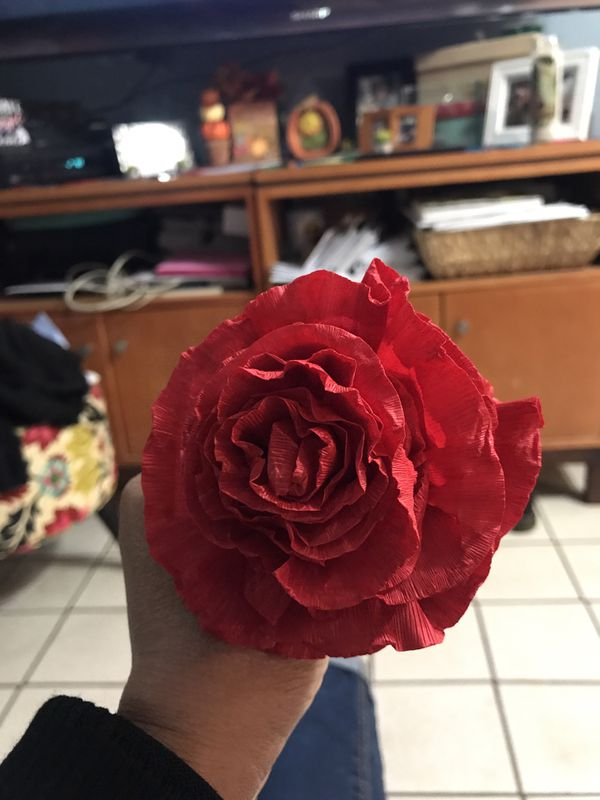 Crepe Paper Flowers For Sale In Montebello Ca Offerup