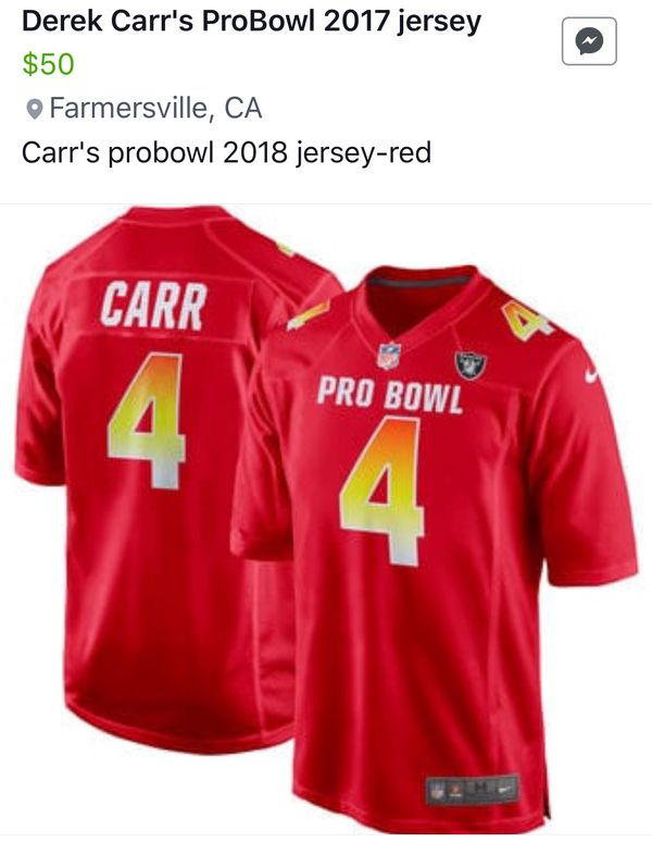 reputable site 8f8c3 fffbd Seren Carr's pro bowl jerseys for Sale in Tulare, CA - OfferUp
