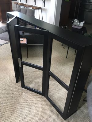 New Mirror wall mounted TV cover / TV cabinet / Hide-a-TV for Sale in Orlando, FL