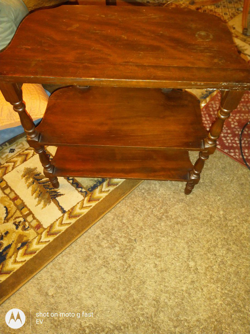 3 tier side table