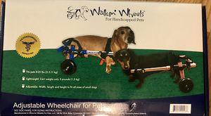 Walking wheels pet wheelchair for Sale in Warner Robins, GA