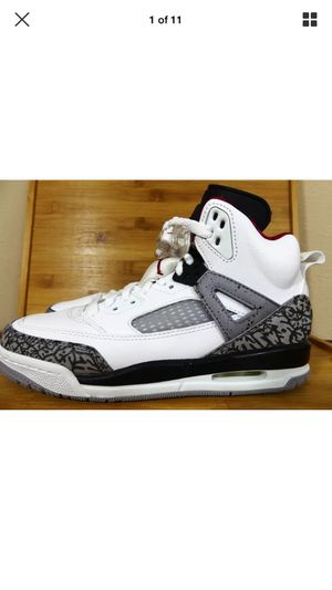 Nike Air Jordan Spizike BG GS Size 4Y Womens SZ 6 White Cement Grey 317321-122 for Sale in Tampa, FL