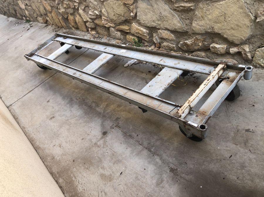 Heavy duty ramp with wheels