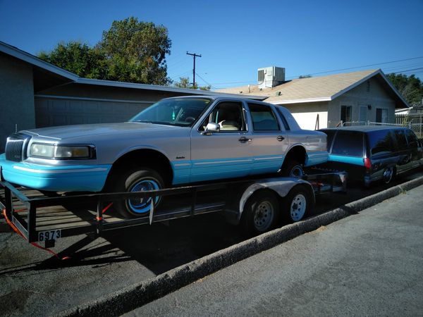 1997 Lincoln Towncar Lowrider Hopper For Sale In Moreno Valley