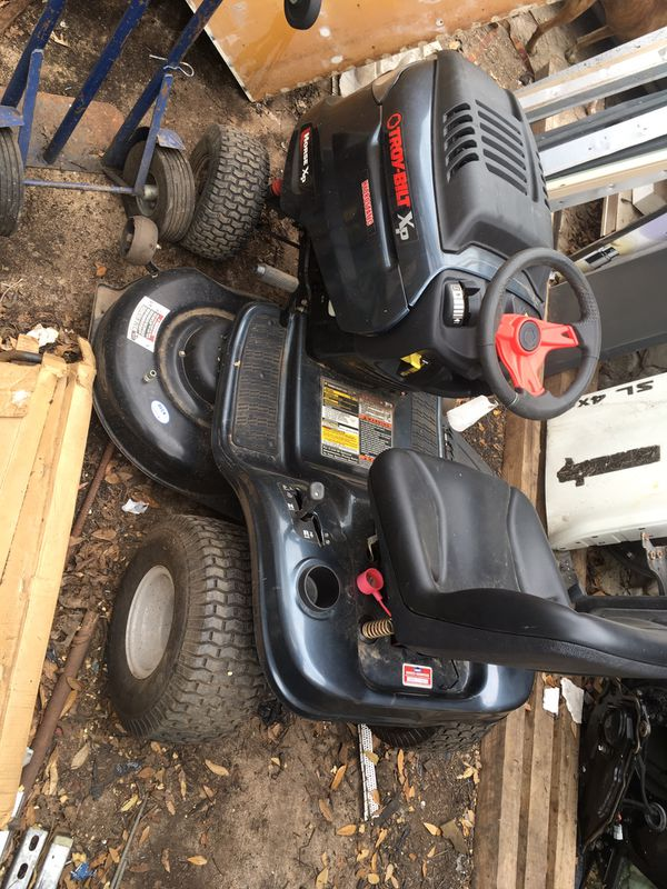 Troy Built Xp Horse Xp 46 Inch Riding Lawn Mower Not