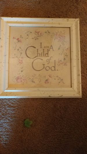 """""""I am a child of God"""" picture for Sale in Salt Lake City, UT"""