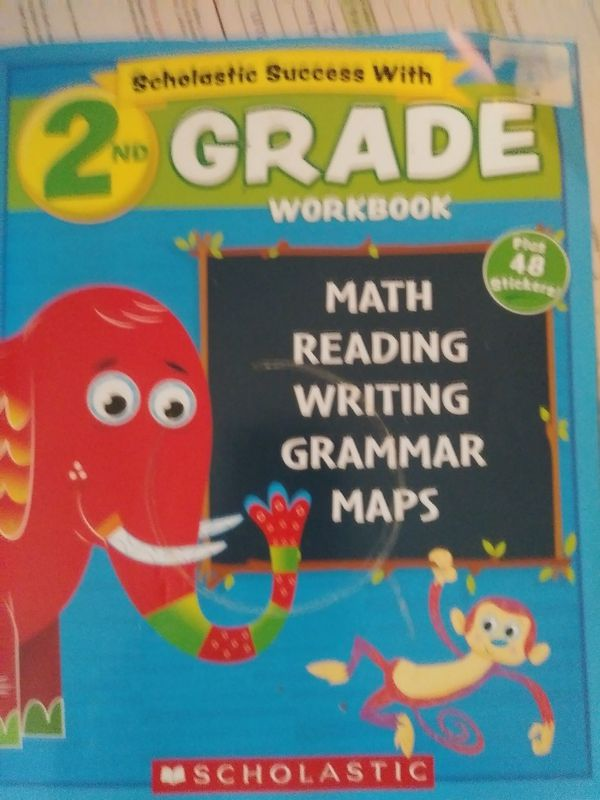 2nd grade work book, with fun activities and stickers  10$ for Sale in  Eugene, OR - OfferUp
