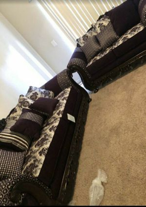 Photo Furniture sofa and loveseat Finance available down payment $291456 North Beltline Road Garland Texas 75044
