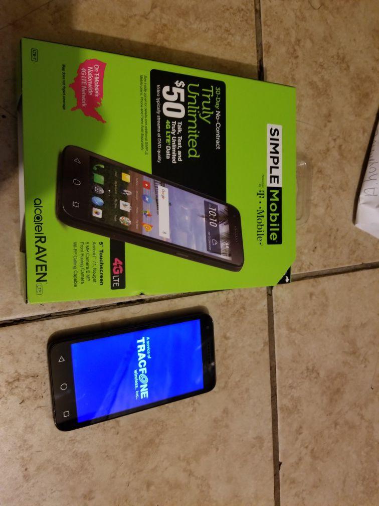 T mobile/simple mobile smartphone