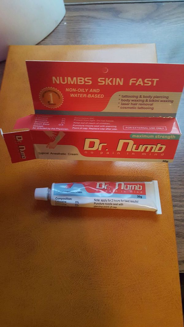 Dr. Numb tattoo and percing numbing cream for Sale in Goodyear, AZ ...