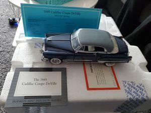 Photo Franklin Mint 1949 Cadillac Coupe DeVille