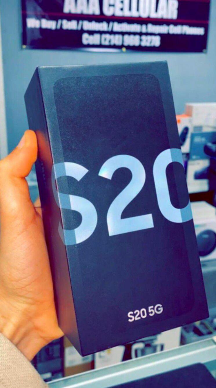 Samsung Galaxy S20 5G 128gb Factory Unlocked - Like New! (30 Days Warranty)