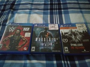 Ps4 games works great for Sale in Detroit, MI