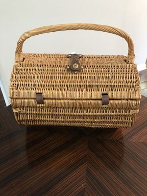Picnic basket for Sale in Centreville, VA