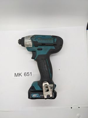 Photo Makita 1/4 DT03 12V Mx CXT Lithium-Ion Cordless Impact Driver w/ Battery