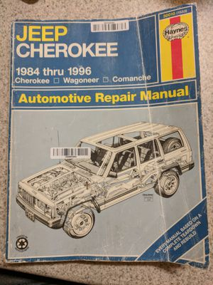 Jeep Cherokee Manual for Sale in UT, US