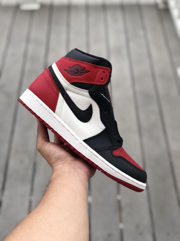 596a8994e6f Air Jordan 1 Bred Toe Retro for Sale in San Marcos