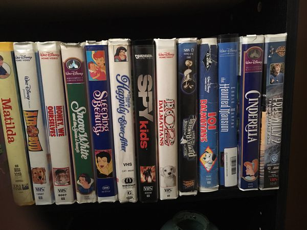 Disney vhs tapes 20 for Sale in Germantown, MD - OfferUp