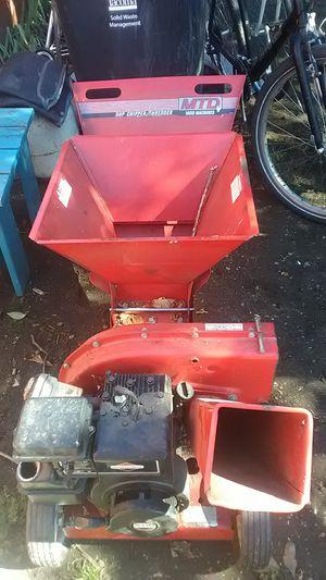 MTD yard machines. 5Hp chipper/shredder for Sale in Tacoma, WA