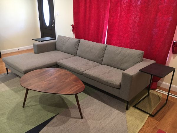 Blu Dot New Standard Sofa w/ left arm chaise for Sale in Fremont, CA -  OfferUp