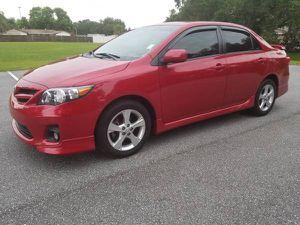 2013 Toyota Corolla S Auto 68K Miles RIMS Spoiler ALARMS for Sale in Orlando, FL