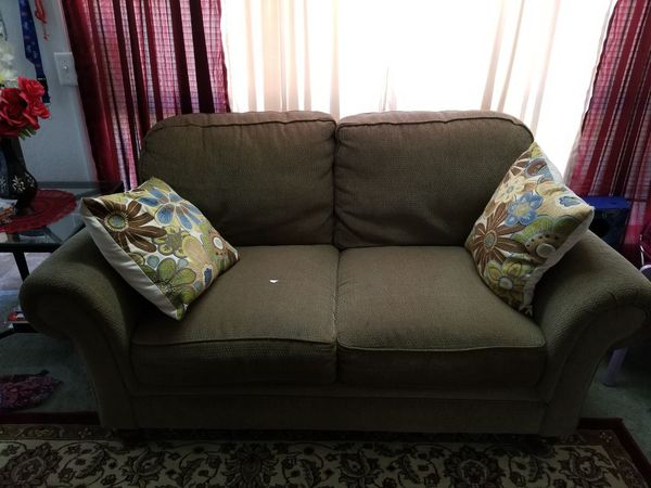 Sofa Set Olive Green Color For Sale In Garden Grove Ca Offerup