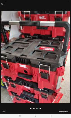 MILWAUKEE PACK OUT TOOL BOX BRAND NEW EACH Thumbnail