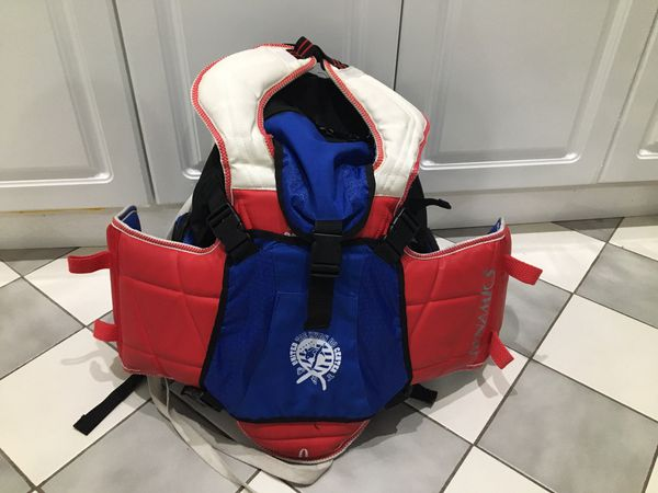 For sale! Taekwondo Karate Sparring Gear Backpack GTMA Martial Arts  Equipment Bag- for Sale in Queens, NY - OfferUp