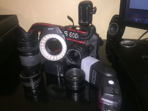 Canon EOS 60D for Sale in Washington, MD