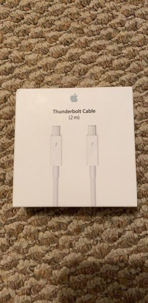 Apple thunder bolt cable for Sale in Springfield, VA