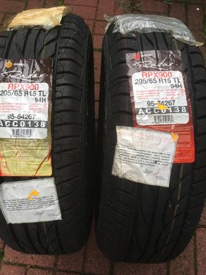 5 tires for sale and 2 of them are new ones for Sale in Gaithersburg, MD