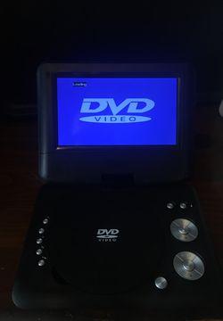 "Portable DVD Player 7"" inch screen Thumbnail"