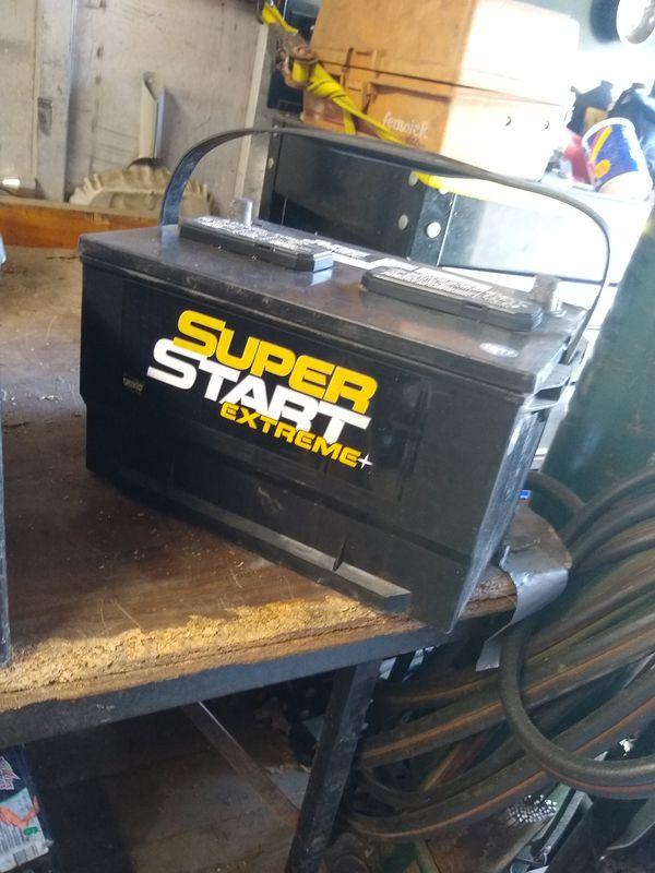 12 Volt Truck Big Batteries Some Deep Sale Rv Tight Take