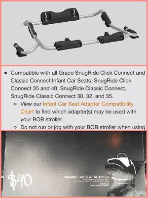 Bob Car Seat Adapter For Graco Sale In Aurora IL