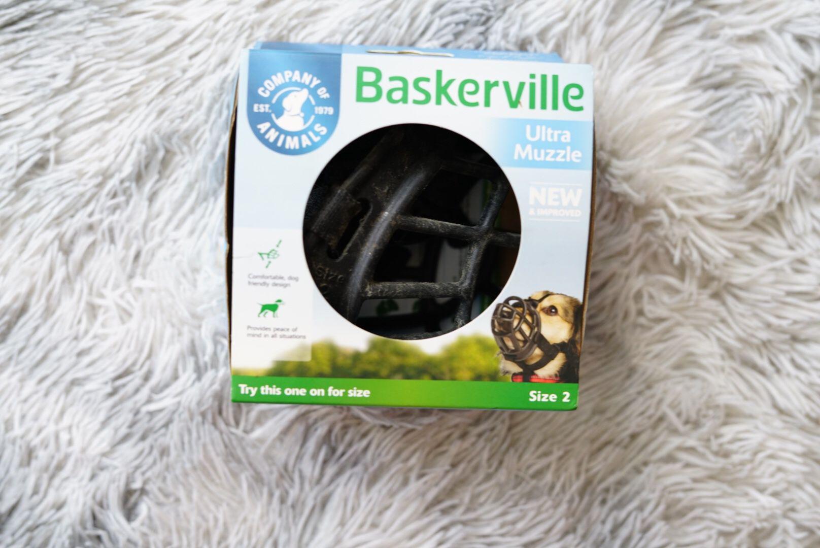 Dog Muzzle Size Large & Medium